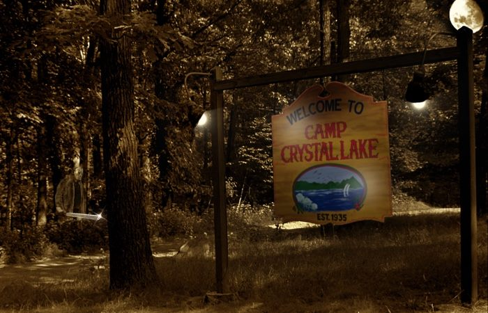 Replica Camp Crystal Lake Signs Can Now Be Yours