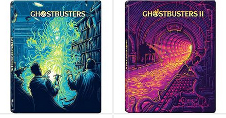 Amazing new Steelbooks for Ghostbusters 1 & 2 from Best Buy!