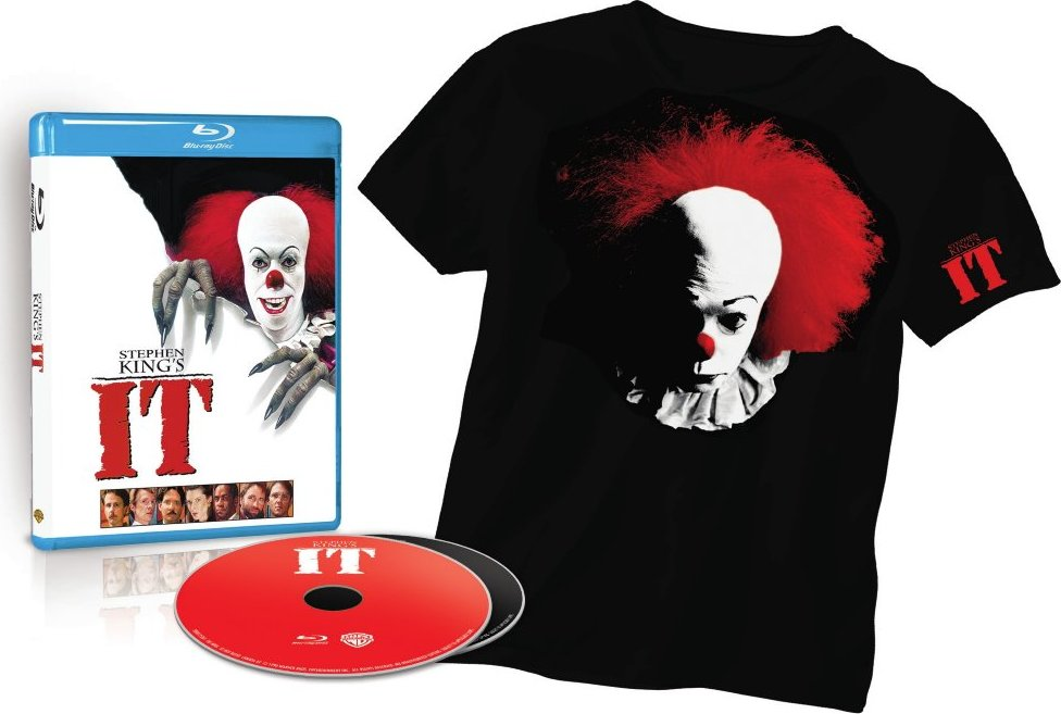 STEPHEN KING'S IT & SALEM'S LOT ARE COMING TO BLU-RAY SEPTEMBER 20TH!