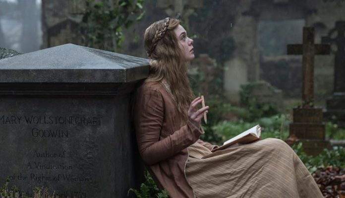 Mary Shelly Movie Elle Fanning