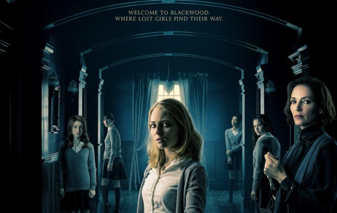 DOWN A DARK HALL Starring AnnaSophia Robb and Uma Thurman | Official Trailer