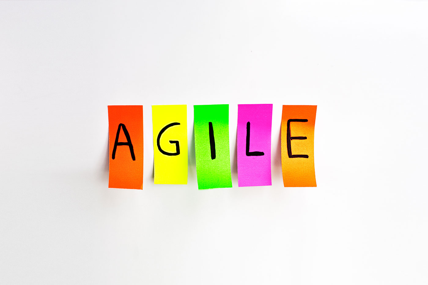 Agile is a state of mind as well as a state of business.