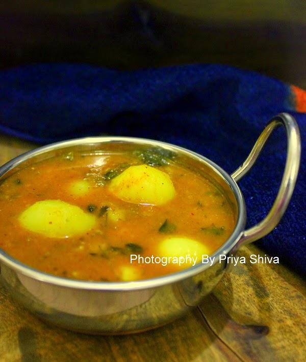 Indian curry, curry recipe, recipe, potato curry
