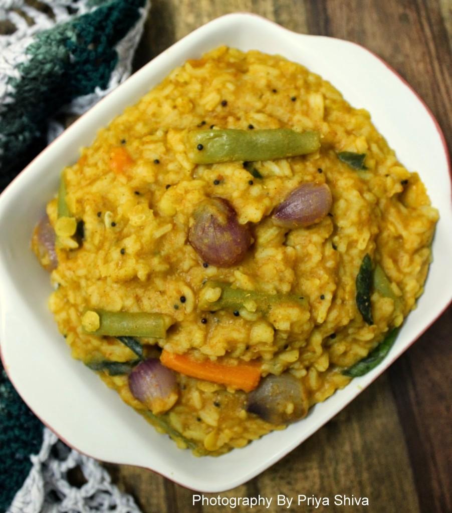 recipe, rice, bisi bele bath