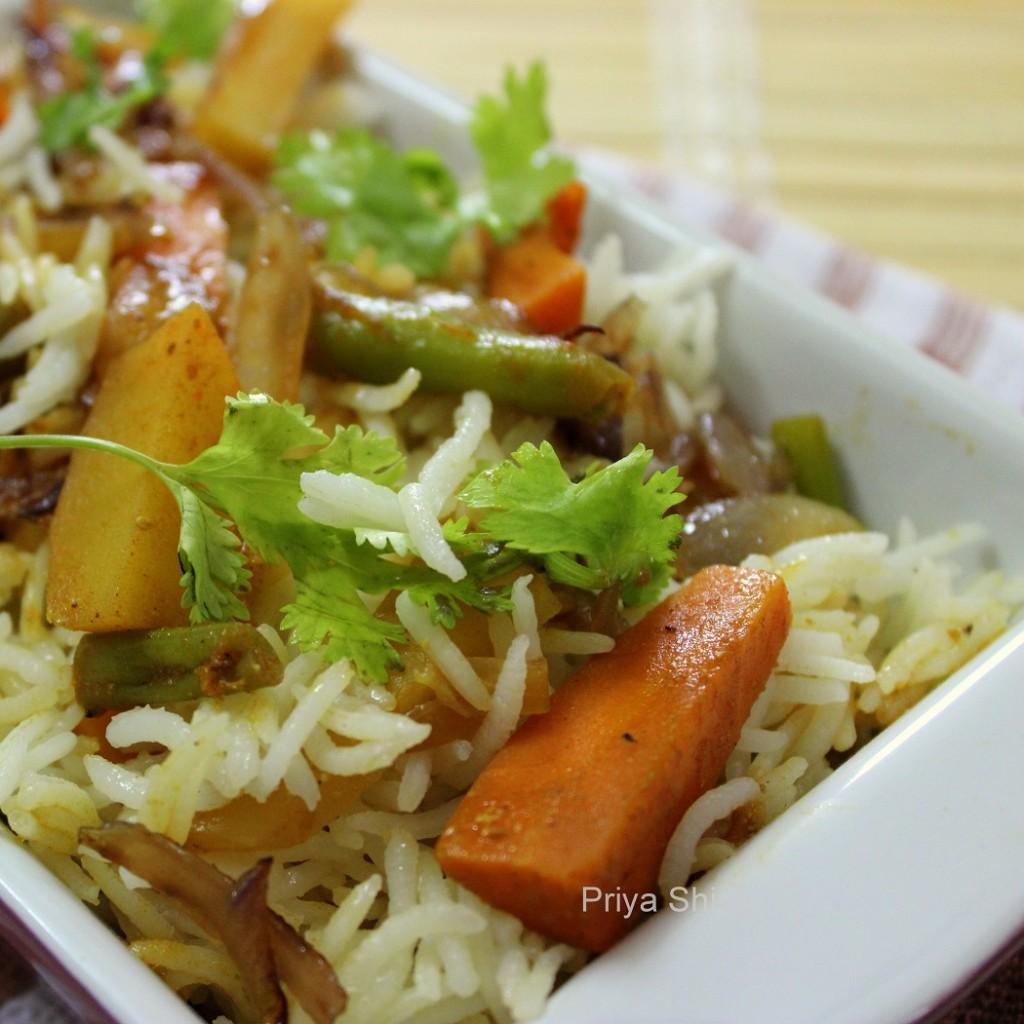 biryani, rice
