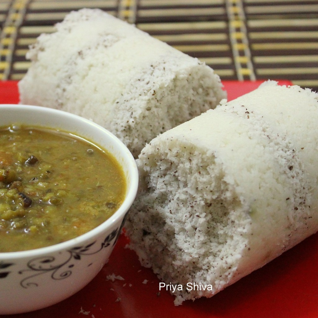 puttu, breakfast recipe