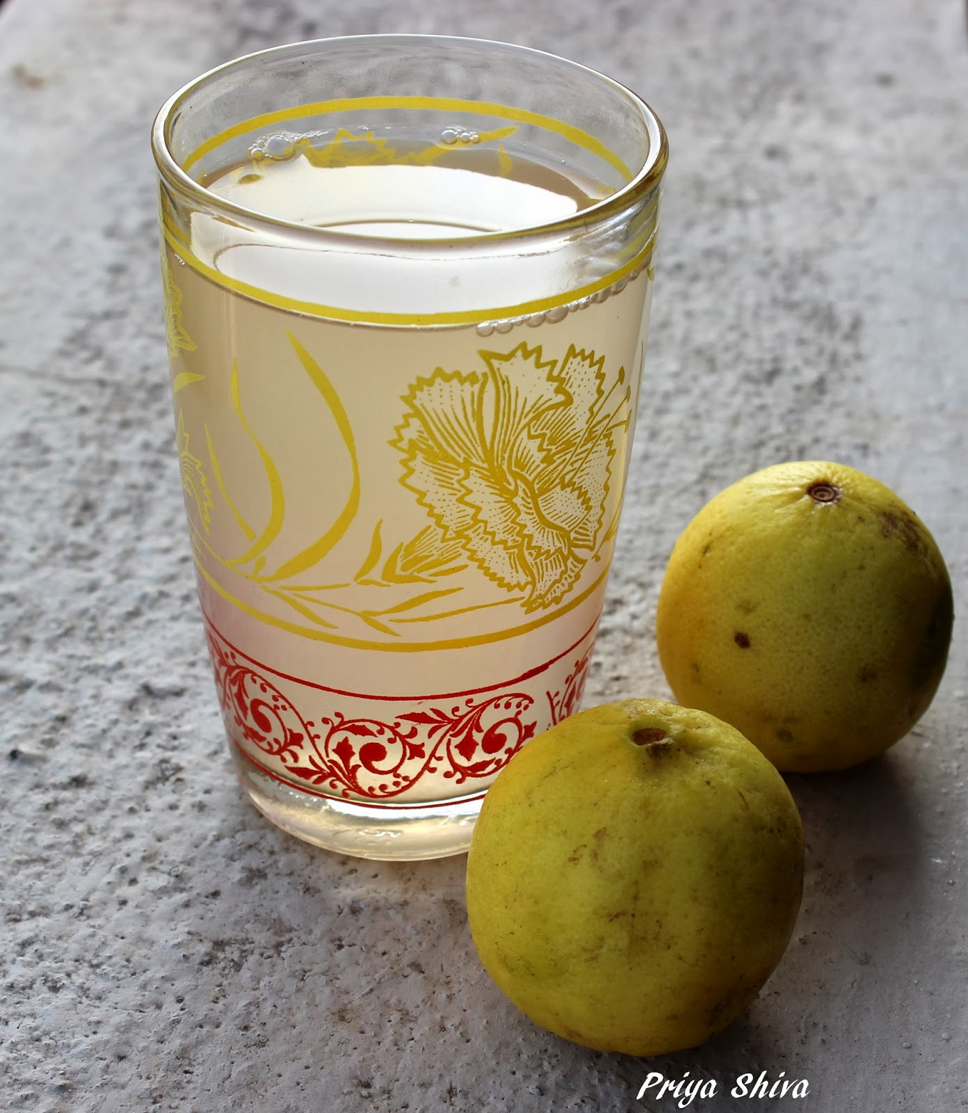 Ginger Lime Juice