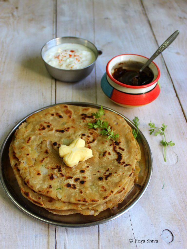 aloo paratha recipe