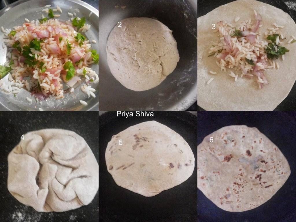 recipe, paratha, method, vegetarian