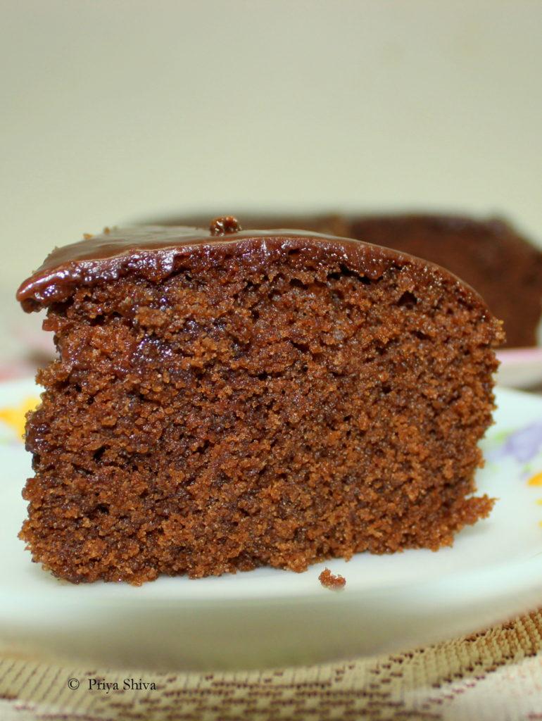 eggless Chocolate coffee Cake