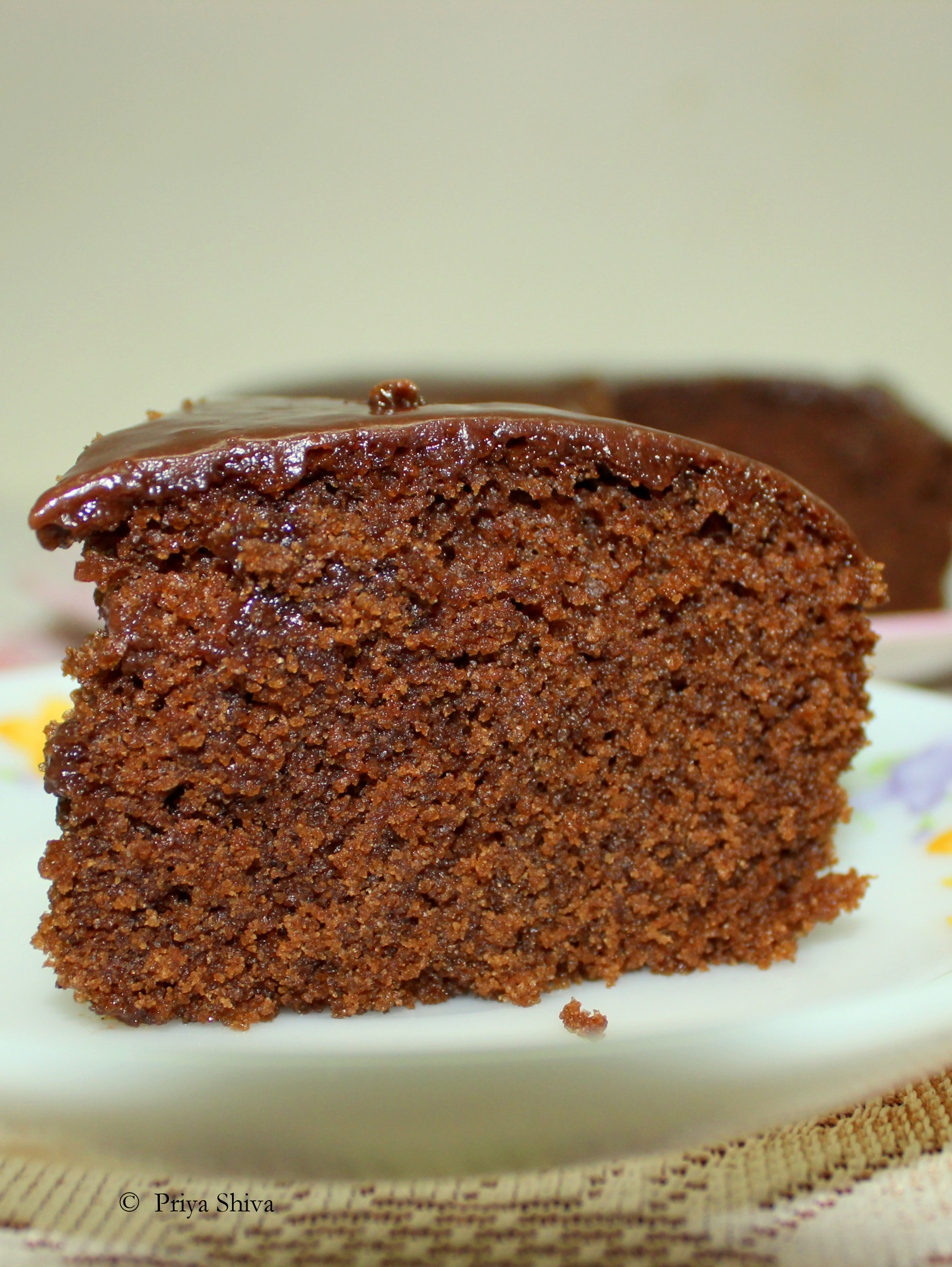 eggless Chocolate coffee Cake