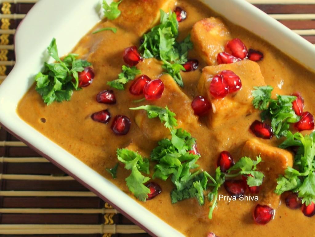 recipe, paneer, Indian Curry, vegetarian
