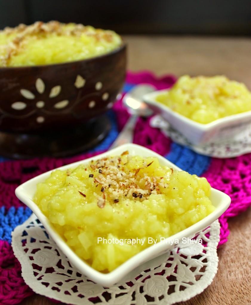 Persian Saffron Rice Pudding