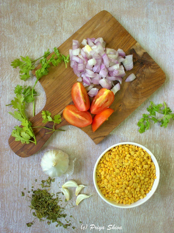 Ingredients for Dal