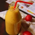 Mango Plum Smoothie
