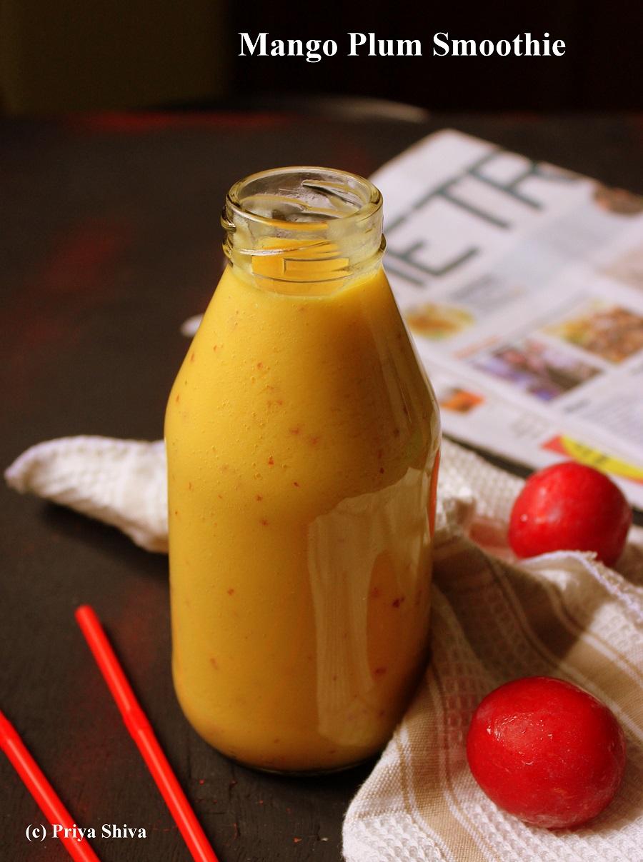 Mango Plum Smoothie Recipe