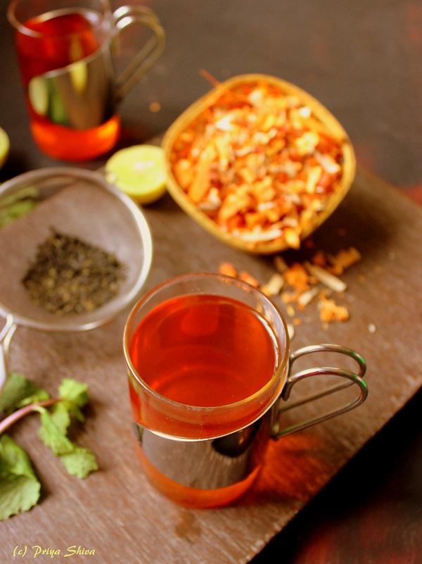 sappan wood herbal green tea