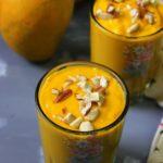 Spiced Mango Oatmeal Smoothie recipe
