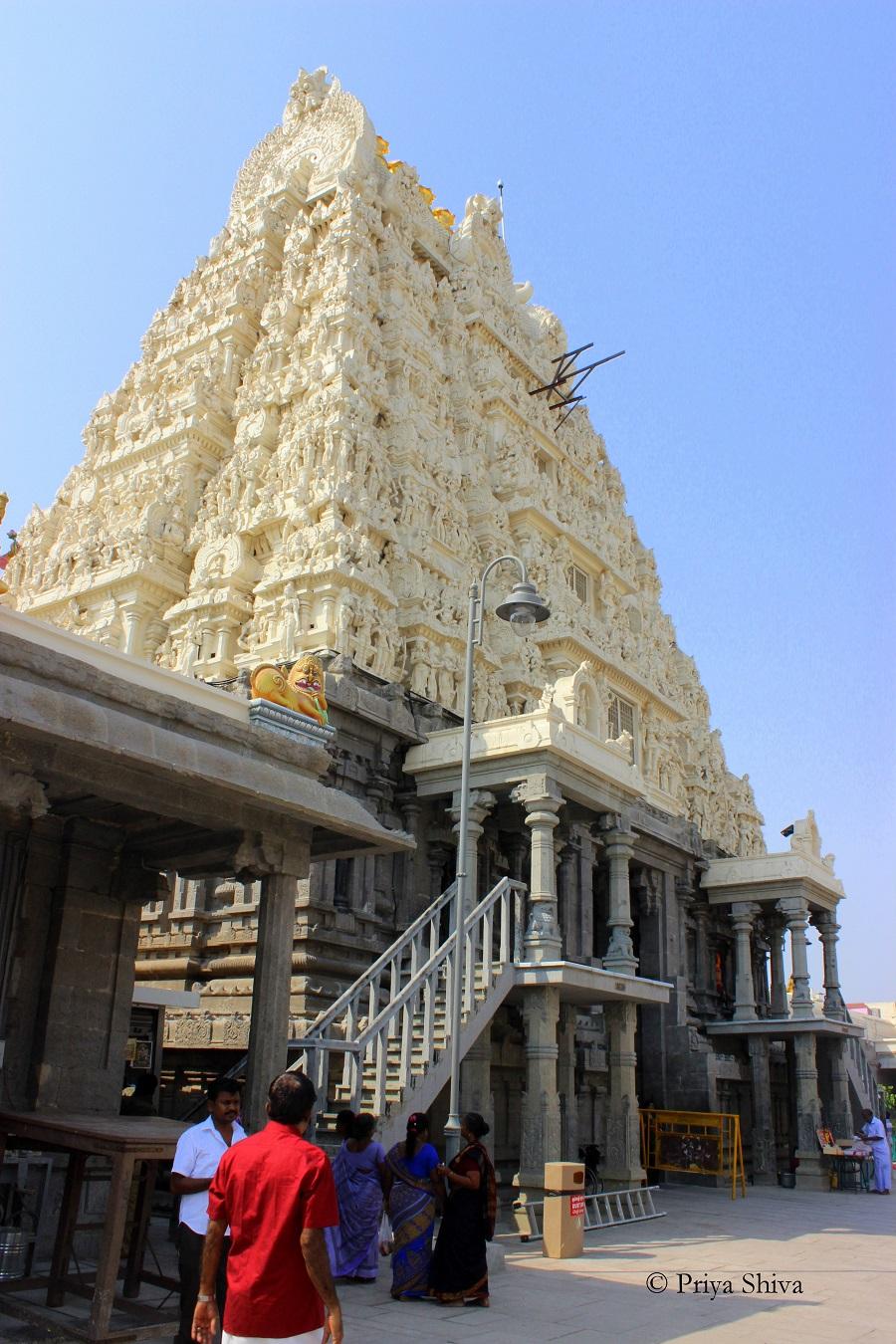 kamakshi amman temple Kanchipuram