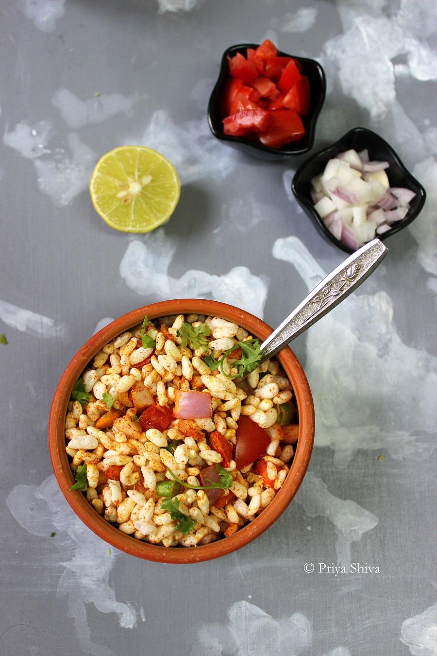 Churmuri - karnataka Street food recipe1