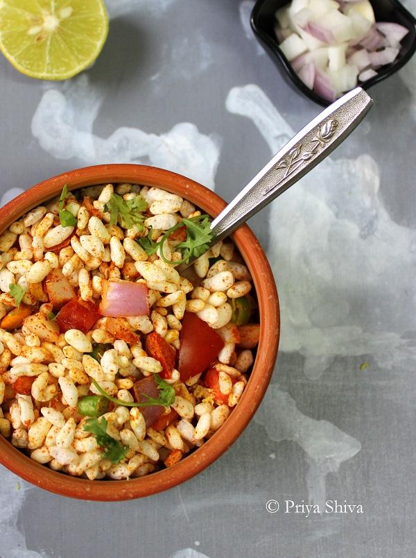 Churmuri - karnataka Street food recipe2