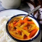 pacha manga curry recipe