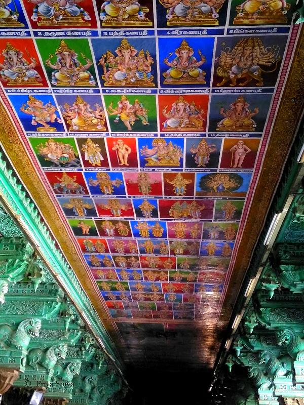 madurai meenakshi amman temple paintings