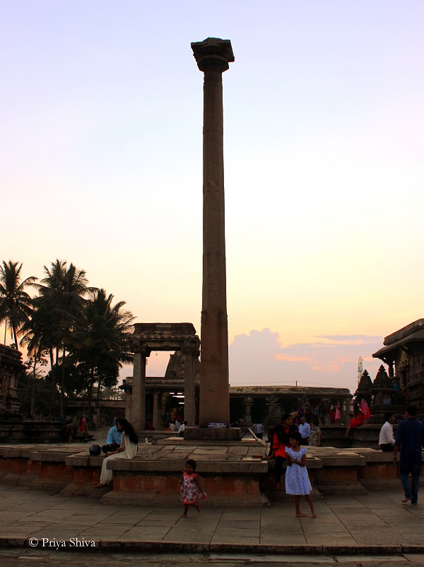 gravity pillar Belur
