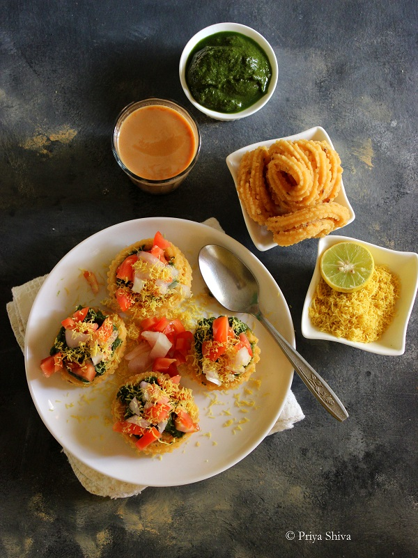 chakli chaat recipe