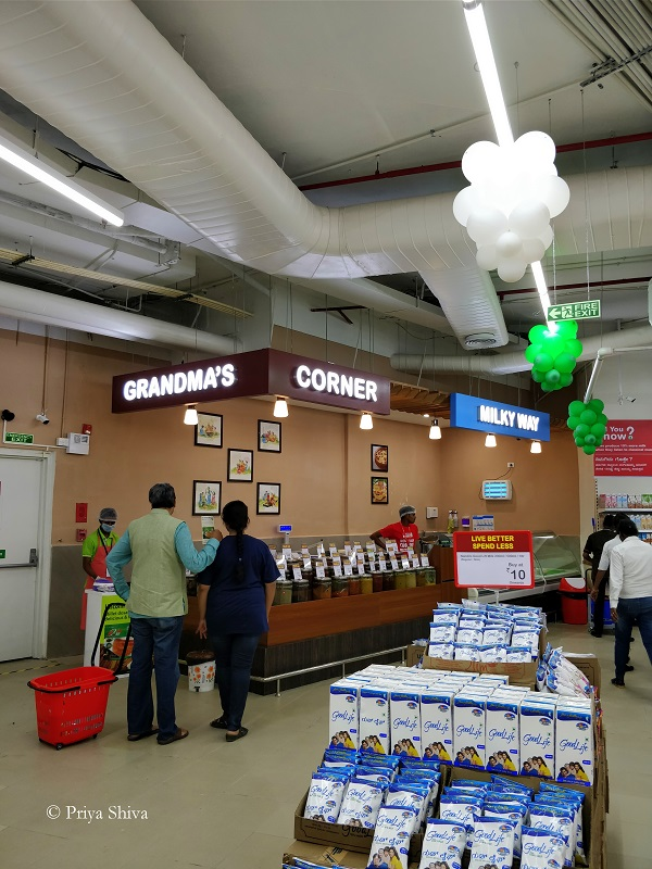 grandma's corner - spar hypermarket