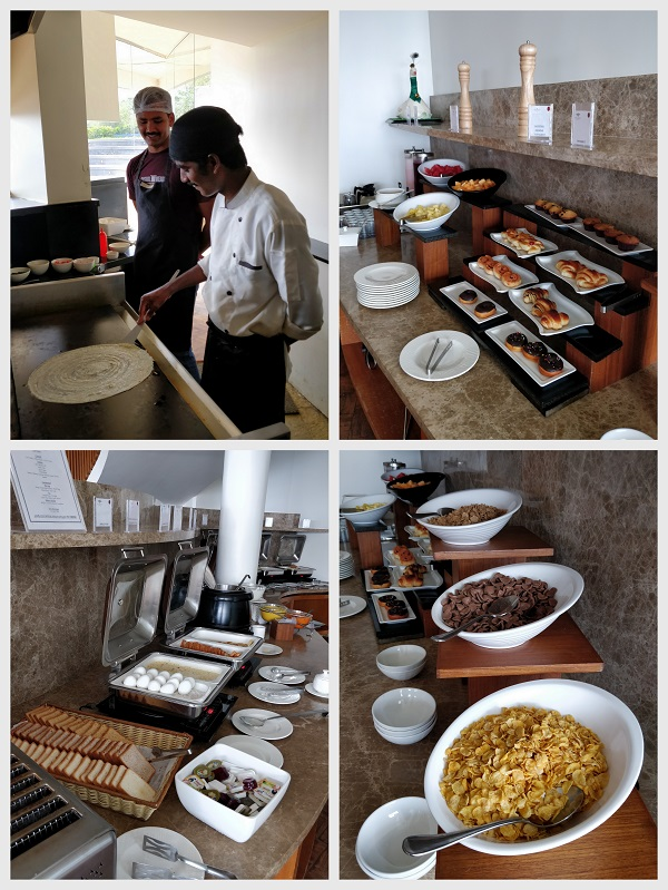 java rain resort breakfast