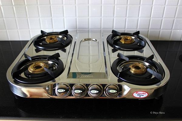 preethi kitchen gas stove