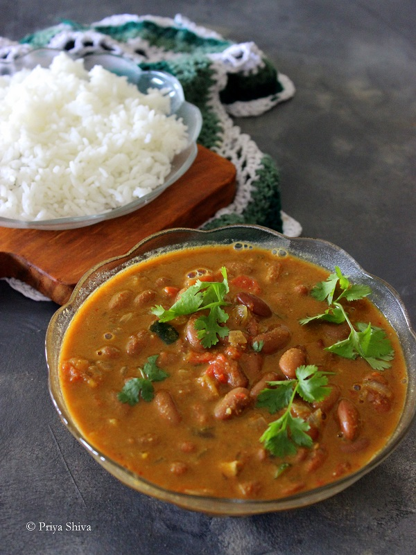 rajma coconut curry recipe