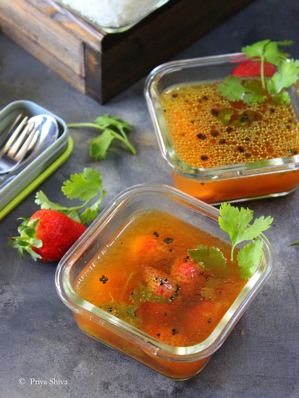 strawberry rasam recipe