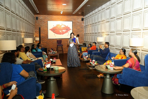 poetic high tea - Priya Shiva