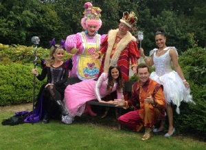 Sleeping Beauty Cast Press launch | Theatre South East