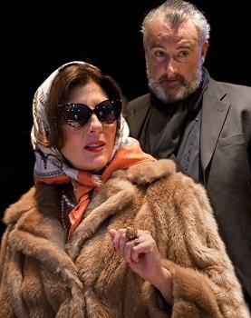 Orsons Shadow 8 (small) Gina Bellman (Vivien Leigh) and John Hodgkinson (Orson Welles) Photo Simon Annand