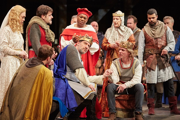 King John by William Shakespeare at The Rose Theatre. Photo by Mark Douet
