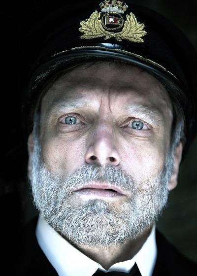 titanic Philip Rham returns as Captain Smith Photo Annabel Vere