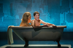 Pixie Lott as Holly Golightly and Matt Barber as Fred in Breakfast at Tiffany's (Sean Ebsworth Barnes) (2)