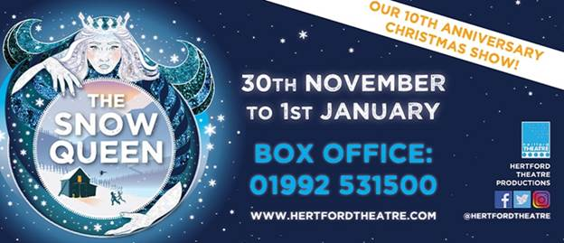 The Snow Queen | Hertford Theatre | Review