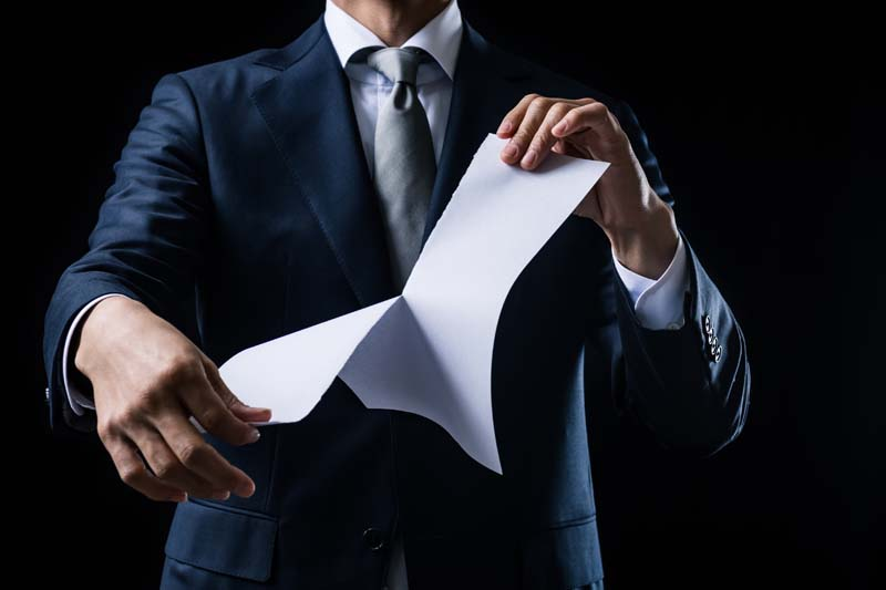 San Diego Business Contracts: Rescinding a Contract