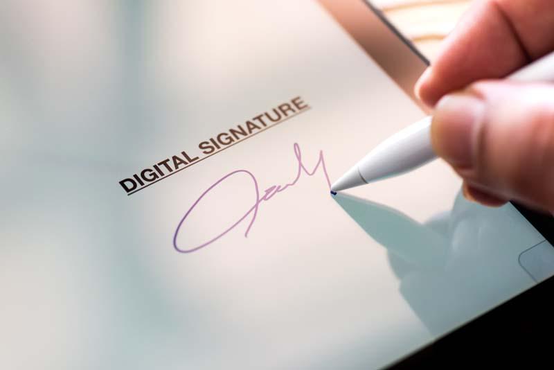 Are E-Signatures Okay to Use?