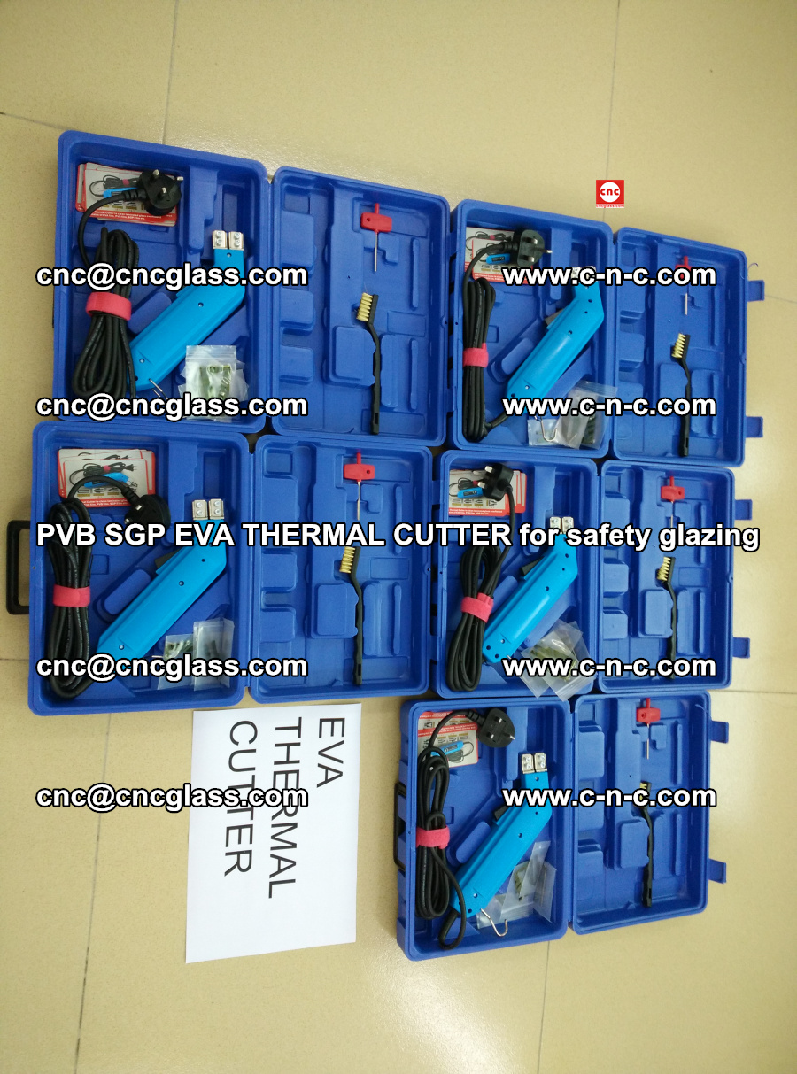 PVB SGP EVA THERMAL CUTTER for laminated glass safety glazing (108)