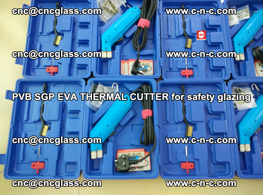 PVB SGP EVA THERMAL CUTTER for laminated glass safety glazing (98)