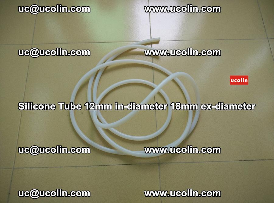 Silicone Tube for vacuuming EVA PVB SGP laminated glass glazing (12)