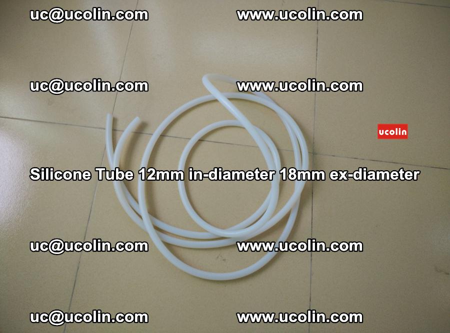 Silicone Tube for vacuuming EVA PVB SGP laminated glass glazing (14)