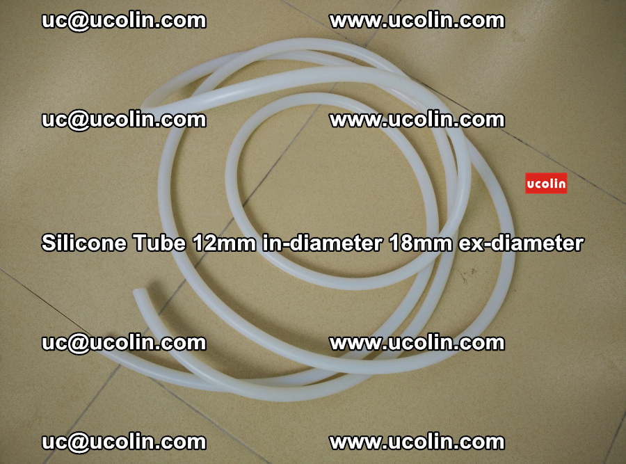 Silicone Tube for vacuuming EVA PVB SGP laminated glass glazing (22)