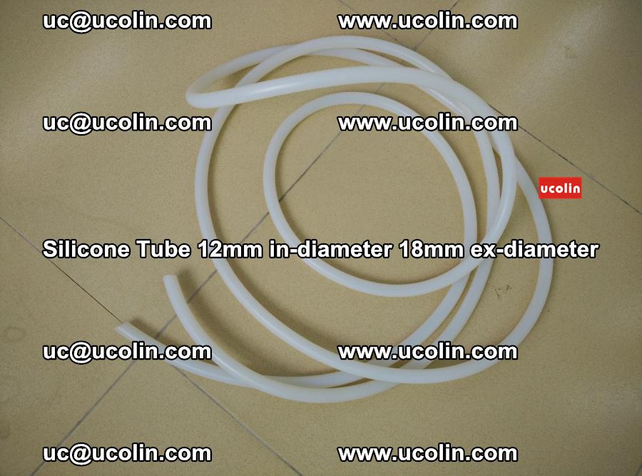 Silicone Tube for vacuuming EVA PVB SGP laminated glass glazing (23)