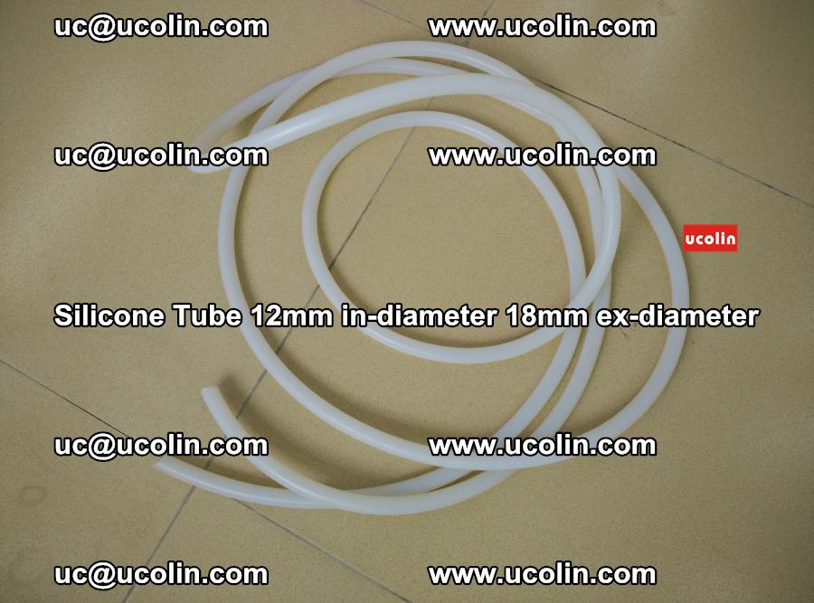 Silicone Tube for vacuuming EVA PVB SGP laminated glass glazing (25)